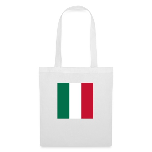 italy square flag - Tote Bag
