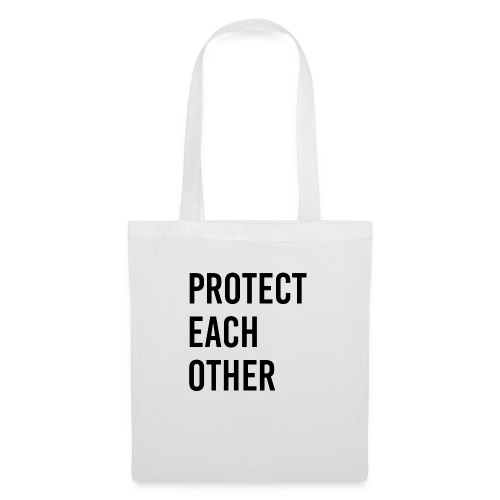 protect each other - Corona Mask - Stoffbeutel
