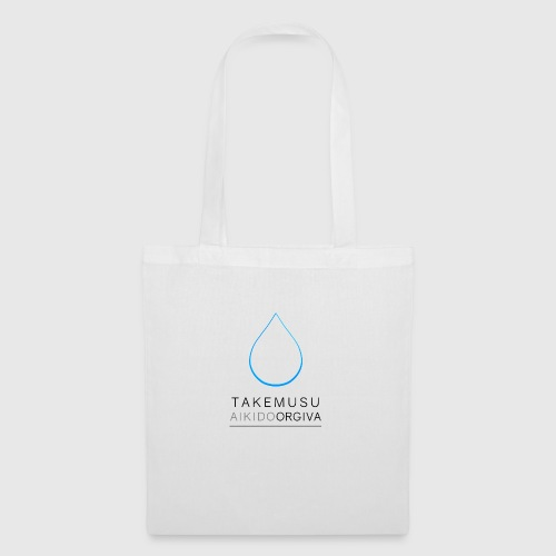 Takemusu Aikido Orgiva - Blue Water Drop - Tote Bag