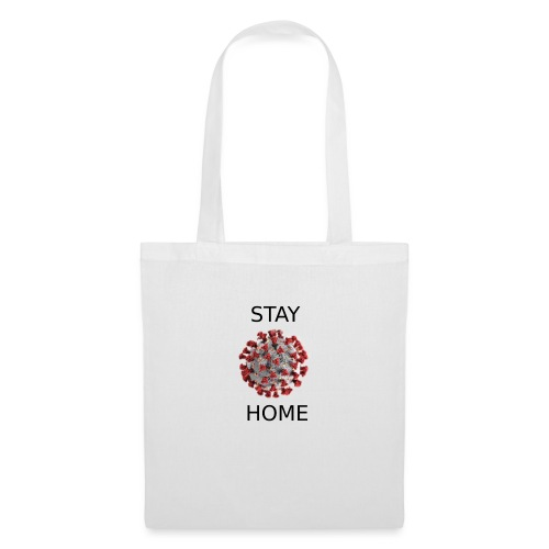 Stay home covid - Tote Bag