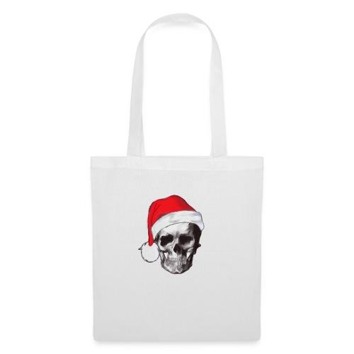 weihnachten-skull Weihnachtsmann - Stoffbeutel