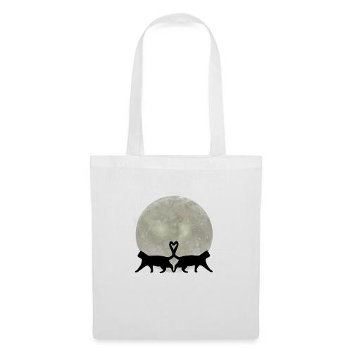 Cats in the moonlight - Tas van stof