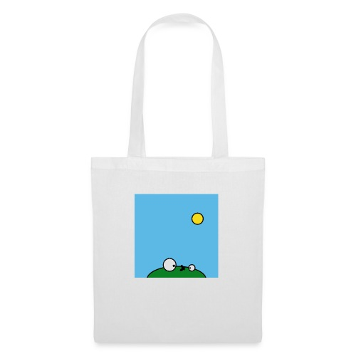 Hungry Frog - suicide fly - Tote Bag