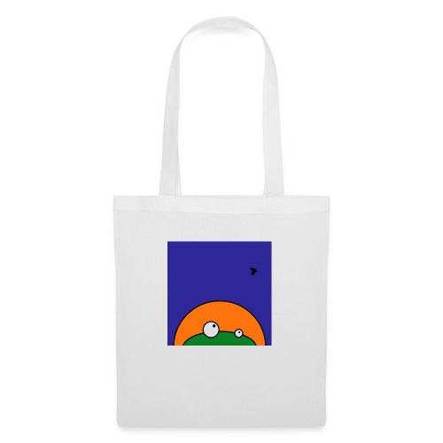 Hungry Frog - ready for dinner - Tote Bag