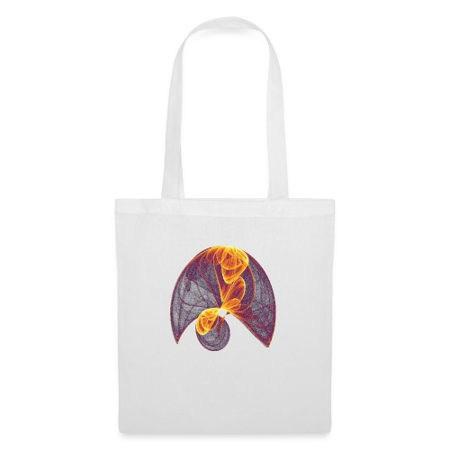 Parachute in the Inferno - Tote Bag