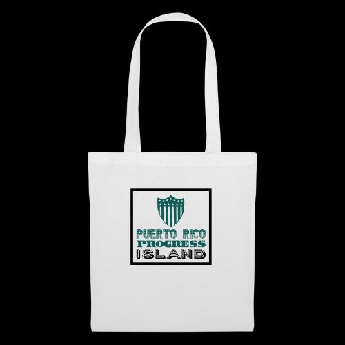 PUERTO RICO PROGRESS ISLAND - Tote Bag