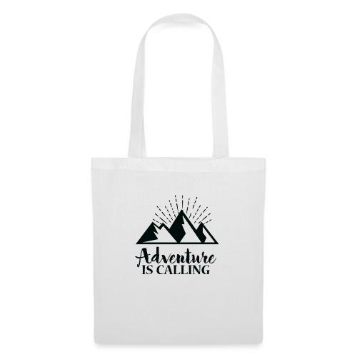 Adventure is calling Camping Mountain Go Explore - Sac en tissu