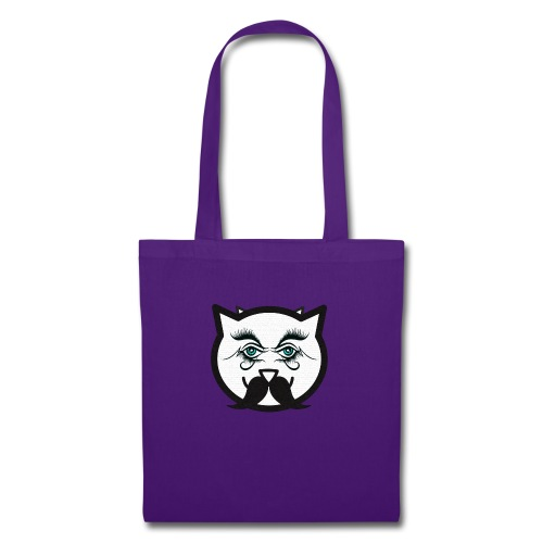 Hipster cat Boy by Tshirtchicetchoc - Tote Bag