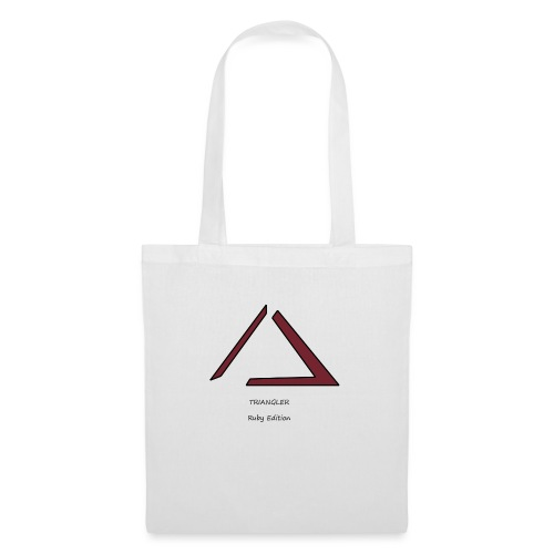 Triangler Ruby édition , Première collection - Tote Bag
