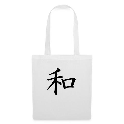 Japanisch Frieden - Stoffbeutel