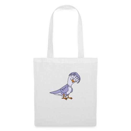 Taube von dodocomics - Stoffbeutel