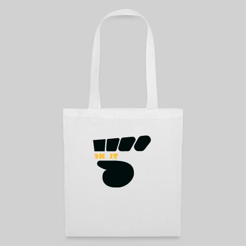 Logo 5 on It noir / jaune - Sac en tissu