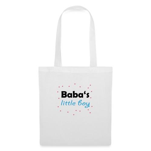 Baba's litte boy Babybody - Stoffbeutel