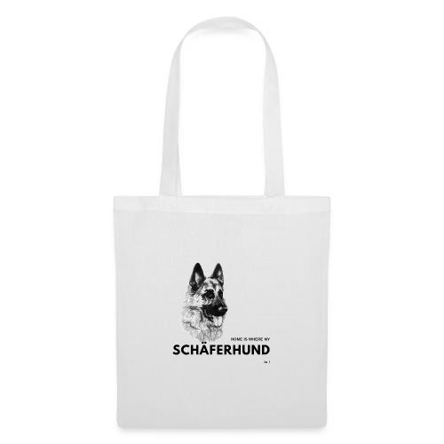 Home is where my Schäferhund is ! - Stoffbeutel