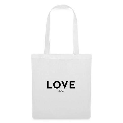 love (let's) - Stoffbeutel