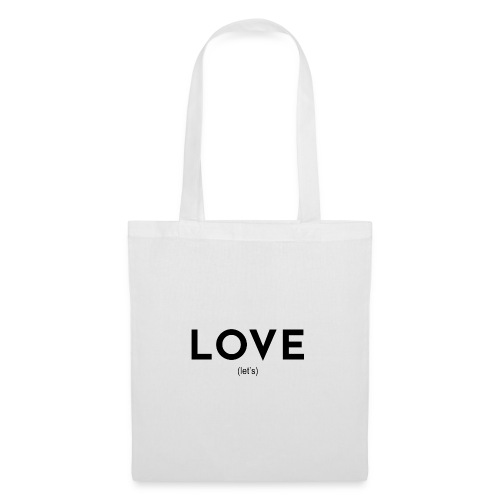 love (let's) - Tote Bag