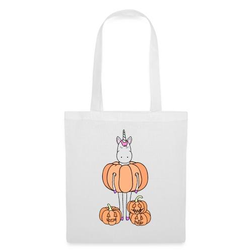 Unicorn & pumpkins - Borsa di stoffa