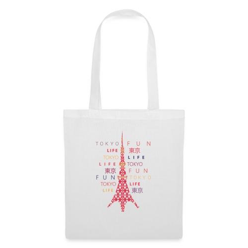 CR - Neon Tower - Bolsa de tela
