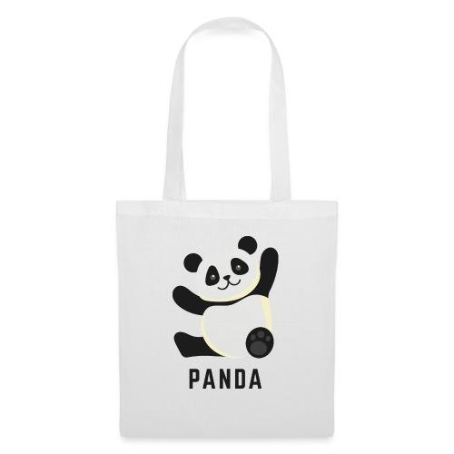 Schattige Panda - Tas van stof