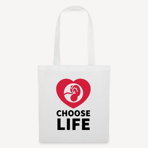 CHOOSE LIFE - Tote Bag
