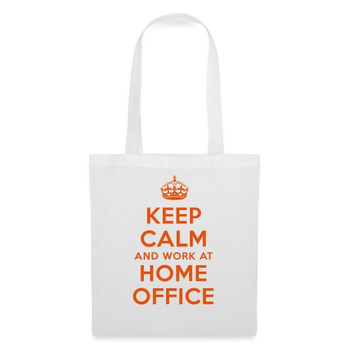 KEEP CALM and work at HOME OFFICE - Stoffbeutel