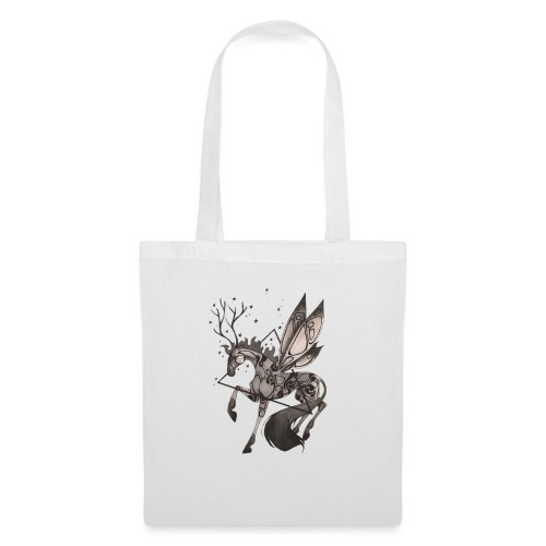 Dragonfly Horse - Ink Collection - Bolsa de tela
