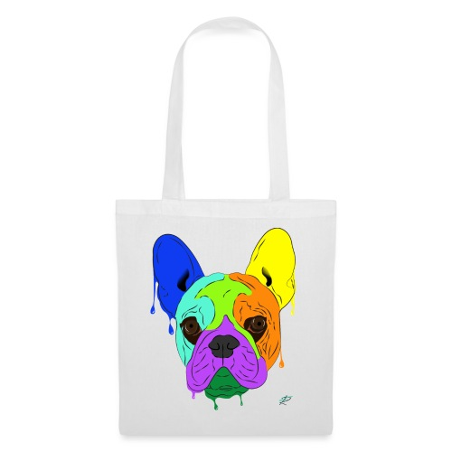 French Bulldog - Borsa di stoffa