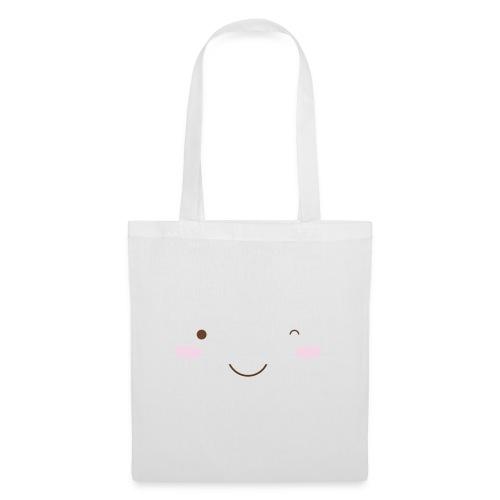 happy face wink - Tote Bag