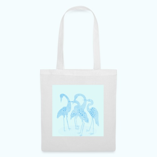 Bird watercolor - Tote Bag