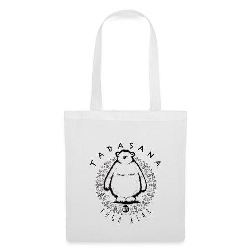 Tadasana by Yoga Bear - Tote Bag