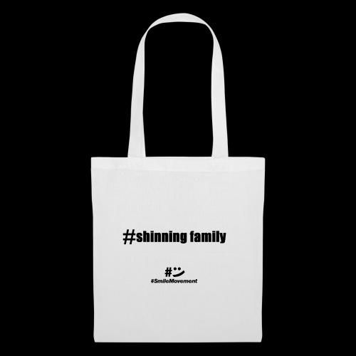 shinning family - Sac en tissu