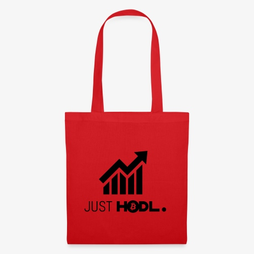 HODL-btc-just-black - Tote Bag
