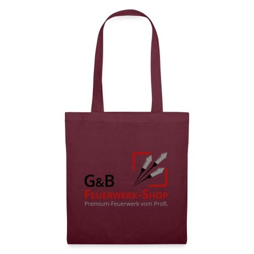 G & B Feuerwerk Shop Logo - Stoffbeutel