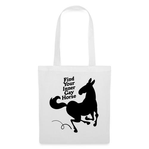 Find your inner gay horse - Tygväska