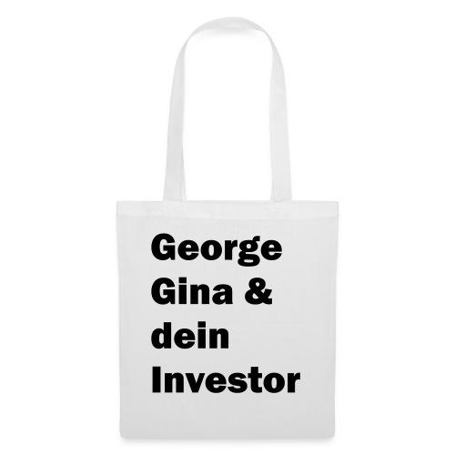 gginvestor weiss - Stoffbeutel