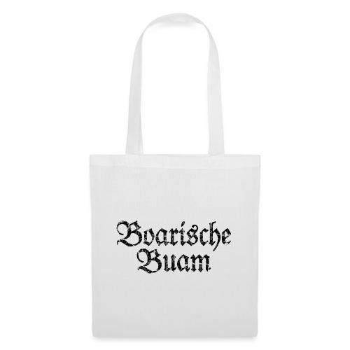 Boarische Buam Männer aus Bayern (Vintage Schwarz) - Stoffbeutel