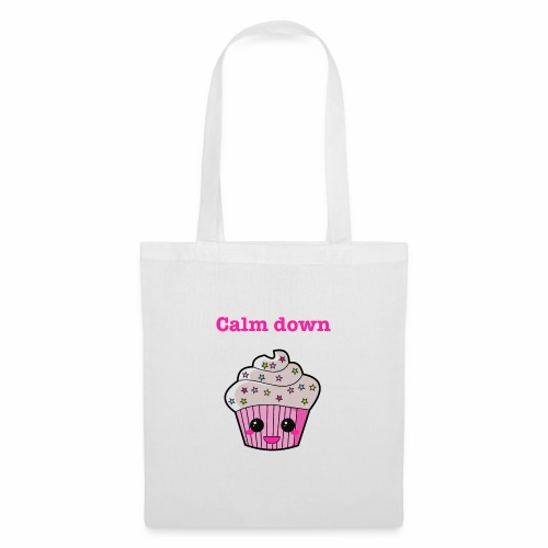 Calm Down Cupcake - Tote Bag