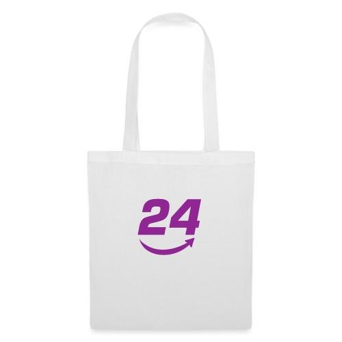 HorseDeal24 Logo Violett - Stoffbeutel