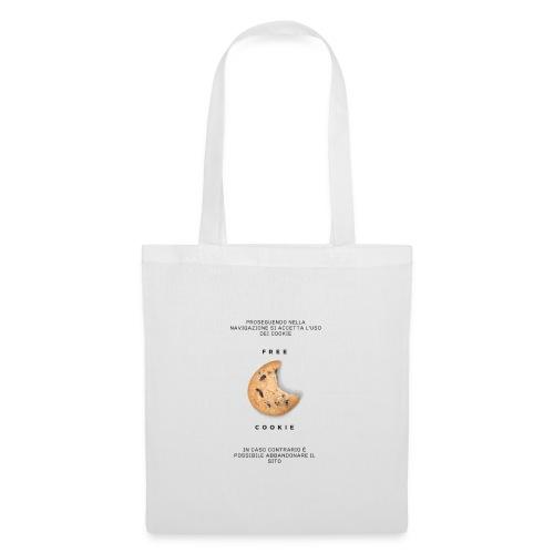 Free Cookies - Borsa di stoffa