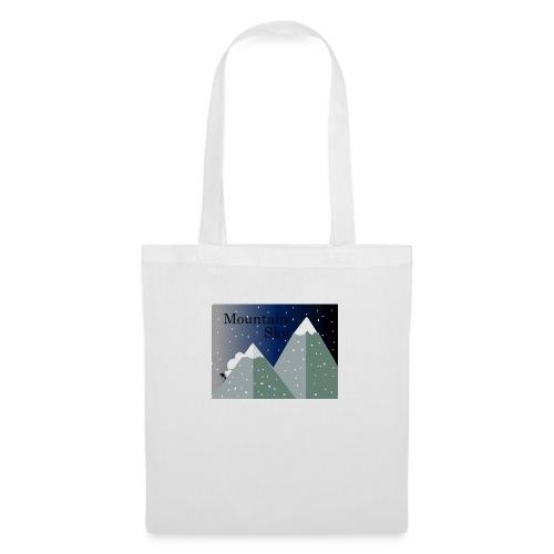 Mountain Sky \Sky Montaña - Bolsa de tela