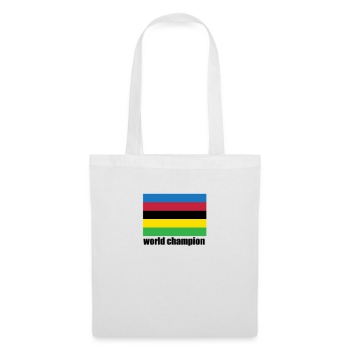 world champion cycling stripes - Tas van stof