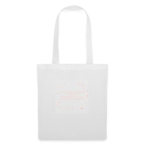 Suivre sa lumière - Tote Bag