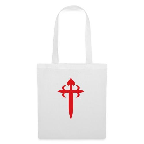 cruz de santiago - Bolsa de tela