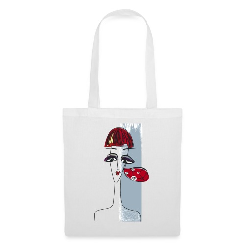 Girl with earring - Tote Bag