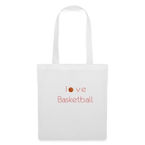 love basketball - Torba materiałowa