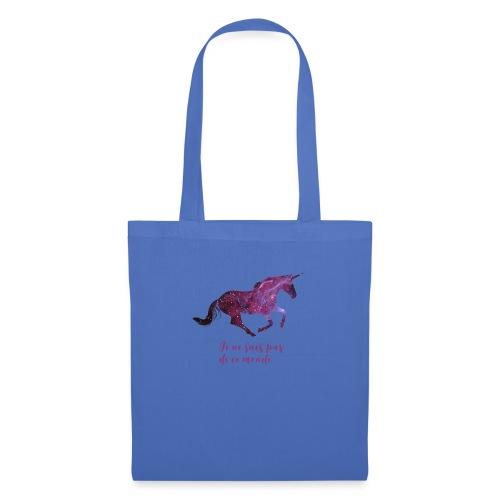 La licorne cosmique - Tote Bag