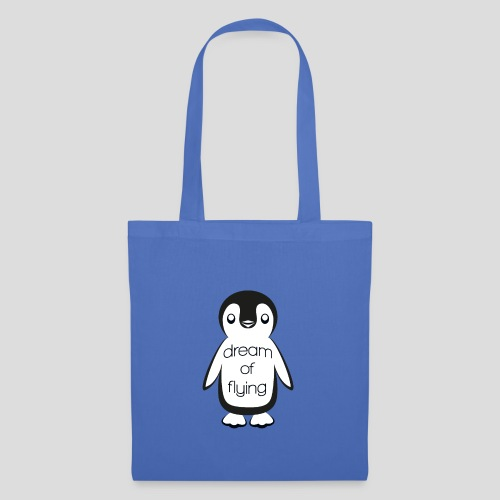 Dream of Flying Pinguin - Tote Bag