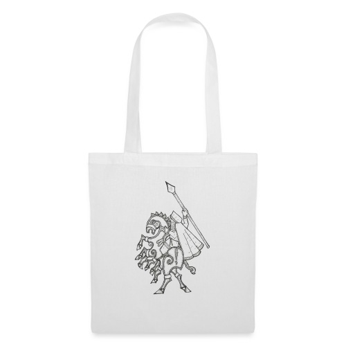 Odin, chevauchant Sleipnir - Tote Bag