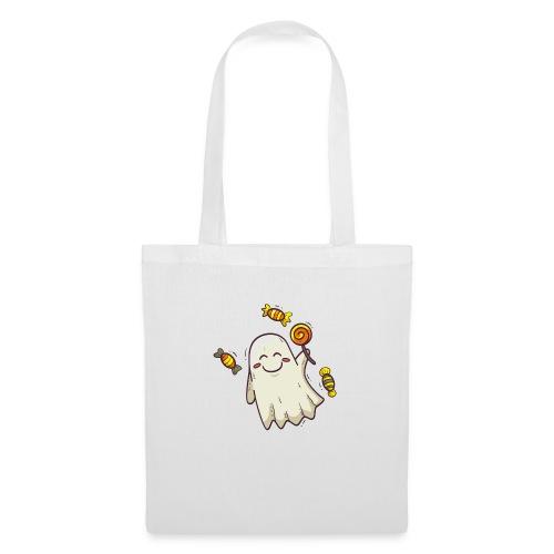 little cute ghost carrying candy - Sac en tissu