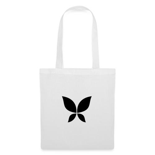 Stahlzart Butterfly Black - Stoffbeutel